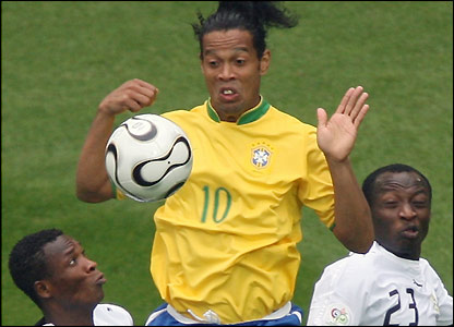 Ronaldinho is closed down