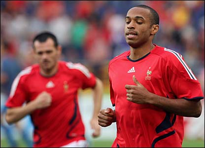 France's Thierry Henry