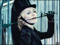 Madonna on cover of W magazine