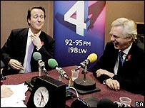 The two Davids: Cameron and Davis