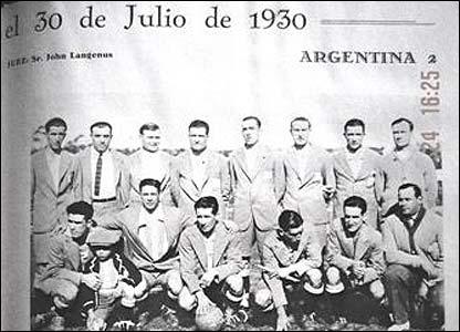 Formaciones de la seleccion argentina en los mundiales (img)