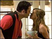 Vince Vaughn and Jennifer Aniston in the Break Up