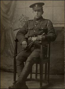 Private Arthur Frederick Whitrod of the 8th Battalion, Royal Fusiliers
