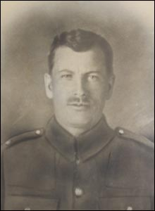 Private Frank Elswood of the Royal Lancaster Regiment