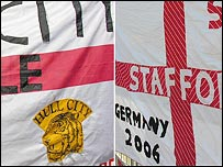 Hull City and Stafford flag