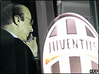 Juventus general manager Luciano Moggi resigned in May