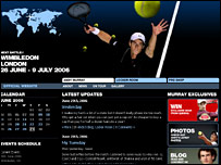 Andy Murray's website