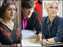 Meera Syal, Stephen Fry, Sheila Hancock