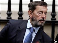 Ex-Home Secretary David Blunkett