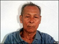 Ta Mok following his capture in 1999