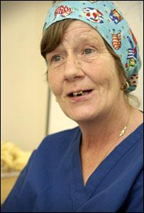 Hazel Russell, June 2006