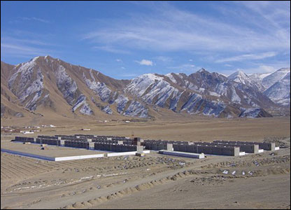 Resettled village of Ne'u, near Lhasa - picture courtesy of International Campaign for Tibet