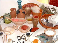 Roman cosmetics