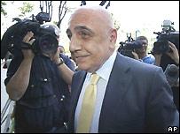 Adriano Galliani, vice presidente del AC Mil�n