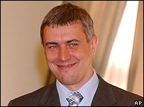 Poland Deputy Prime Minister Roman Giertych