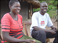 Ochola John and his wife Grace