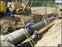 Russian pipeline