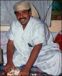 Yemení Salim Ahmed Hamdan.