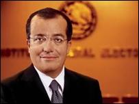 Luis Carlos Ugalde, presidente del IFE