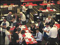 Counting in the Blaenau Gwent by-election