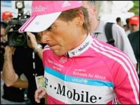 Jan Ullrich denies any involvement in the Spanish blood doping scandal