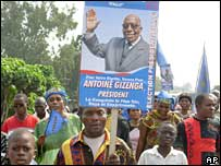Supporters of Antoine Gizenga