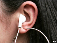 Listening to music (AP)