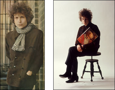 (L) Blonde on Blonde (R)Bob Dylan, The Cross