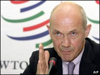WTO chief Pascal Lamy