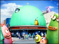 Aardman Animation's Stardome for Madame Tussauds London