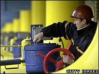 Gas transit plant near Kiev