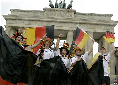 Germany fans in Berlin