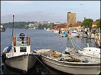 Sinop harbour