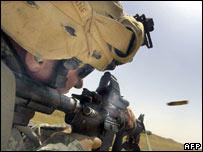 US soldier in Iraq