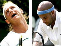 David Nalbandian and James Blake