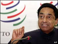India's Commerce and Industry Minister Kamal Nath