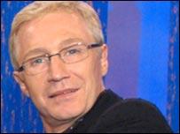 Presenter Paul O'Grady
