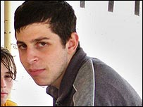 Cpl Gilad Shalit, captured Israeli soldier (file photo)