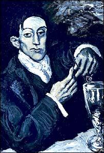 Picasso's portrait of Angel Fernandez de Soto