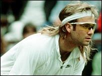 There was relief all round when Agassi wore white in 1991