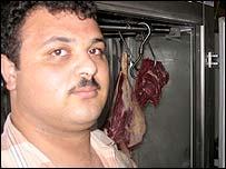 Gaza butcher Mohammed Hadad