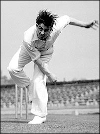 Fred Trueman - England & Yorkshire's finest fast bowler