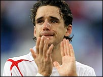 A tearful Owen Hargreaves reflects on England's World Cup exit