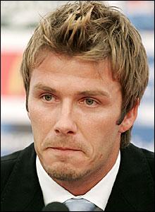 David Beckham announces his decision
