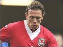 Wales striker Craig Bellamy