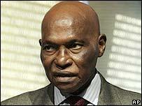 Senegal President Abdoulaye Wade