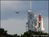 Shuttle launch pad (Getty)