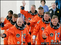 Shuttle crew (Getty)