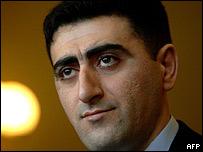 Осужденный азербайджанский офицер Рамиль Сафаров
