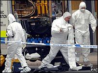 Forensic examinations take place at health studio in Shrewsbury